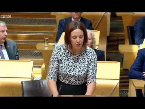 Kezia Dugdale reprimanded for unparliamentary language