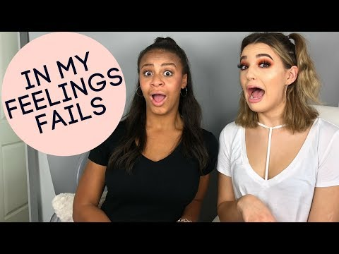 Reacting To In My Feelings Challenge... FAILS! | Nia Sioux ft Jordan Byers