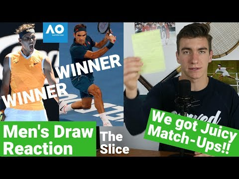 Australian Open 2019: Draw + Day 1 Reaction | The Slice Mp3