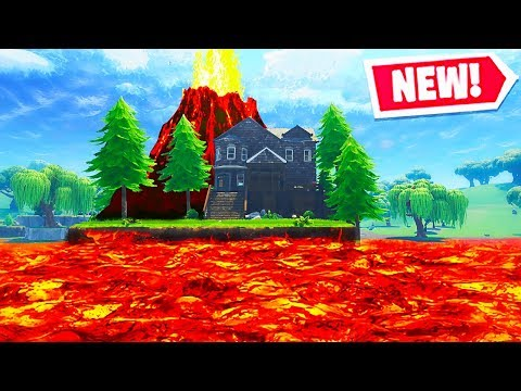 The VOLCANO EVENT Coming in Fortnite! (Fortnite Battle Royale Live Gameplay)
