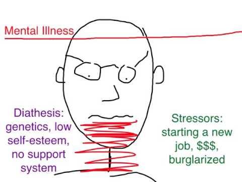 PTSD Diathesis Stress Model - YouTube