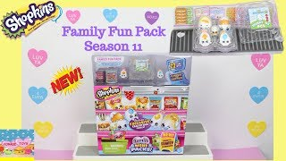 Shopkins Season 11 Family Fun Pack With The Eggertons 22 items in total