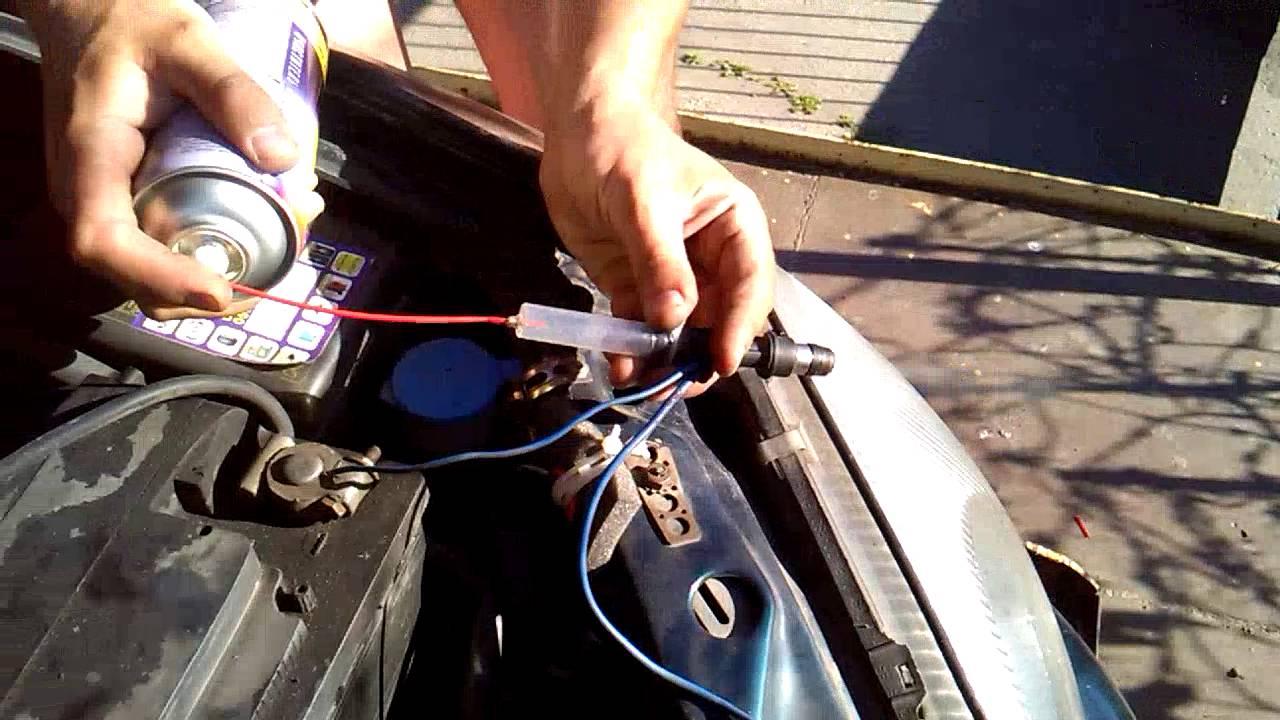 как прочистить форсунки на chevrolet lanos