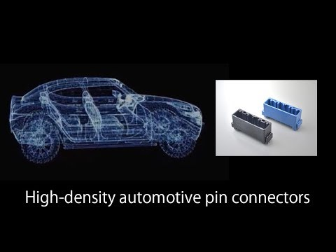 MX34 Series of Compact High-density Automotive Connectors (Through-hole Reflow Type)