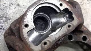 Тормозной механизм Volvo FH12. Ремонт