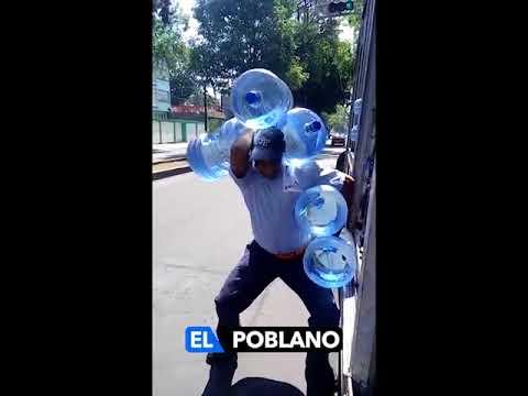 Доставка воды в Мексике