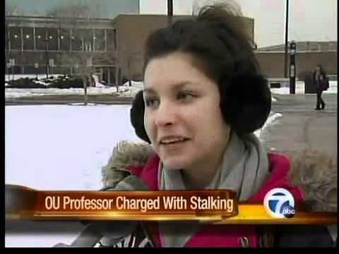 Oakland University professor accused of cyber stalking