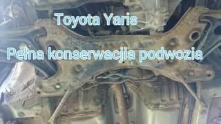 Piaskowanie i Konserwacja toyota yaris - Przemyśl