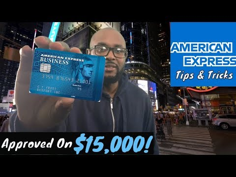 American Express Credit Card - I Got Approved $15k In Business Credit