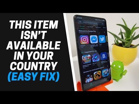 How To Download And Install Game Or App That's Not Available In Your Country (Android) Easy Fix 2020