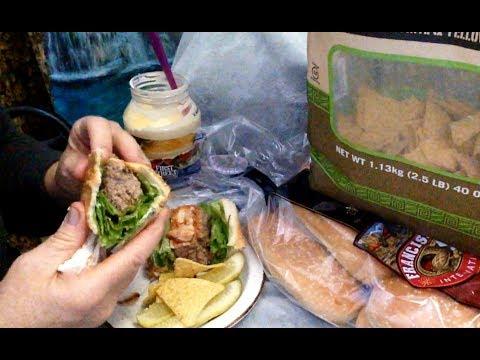 Simple Sandwich Recipe Reveal, Making & Eating Meatloaf Sandwich ASMR Soft Spoken