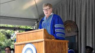Robert Redford Commencement Address Colby College