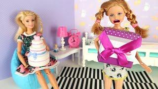 Волшебство Существует? Девочки Пробуют На Себе Мультики Куклы Барби Про Школу IkuklaTV