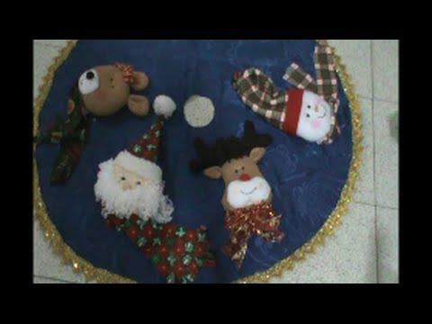 Pie de Arbol De Navidad - YouTube