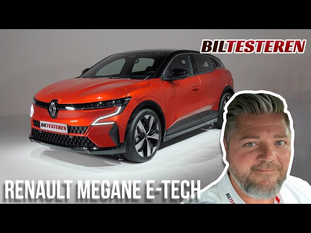 Verdenspremiere på Renault Megane E-tech (første indtryk)