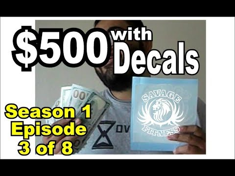 Decal Business part 3: Side money: Episode 3