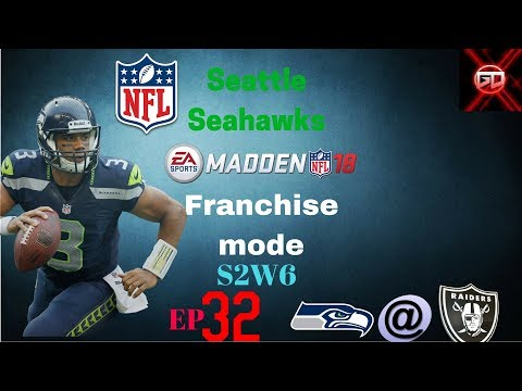 DEFENCE GOES OFF! Seattle Seahawks Madden 18 franchise Mode ep.32 SEA@OAK