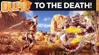FIGHTING TO THE DEATH! (Horizon Zero Dawn Gameplay)