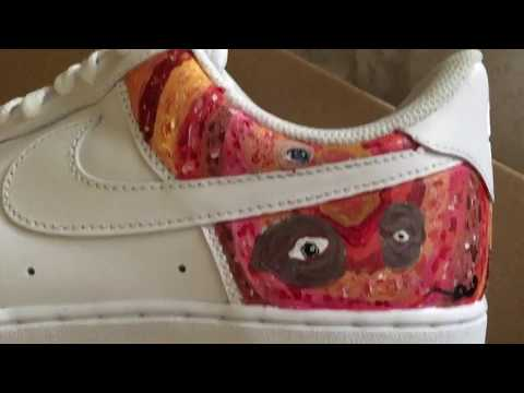 Painting On Shoes ( A Time-Lapse)