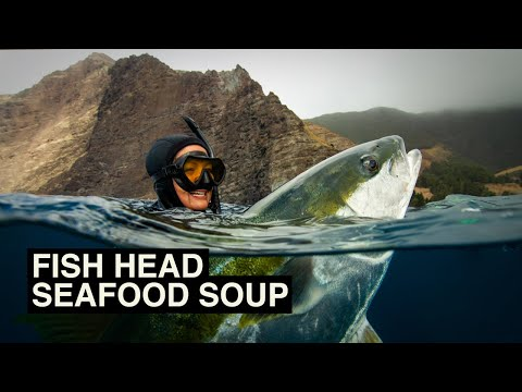 Chilean Seafood Stew - Hawai'i Style - Fresh From The Sea - Kimi Werner Recipe And Spearfishing