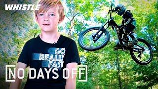 8-Year-Old MIND-BLOWING Mountain Biker Phenom! 🤯
