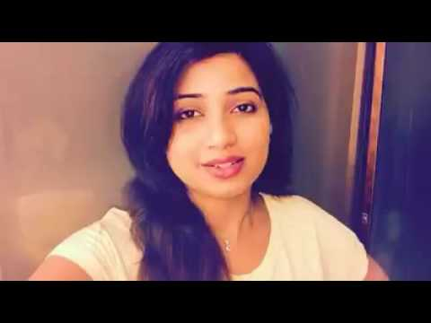 Shreya Ghoshal Live At Home