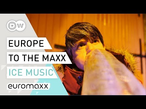 Real Instruments made from Ice | Europe to the Maxx: Ice Music Festival Norway