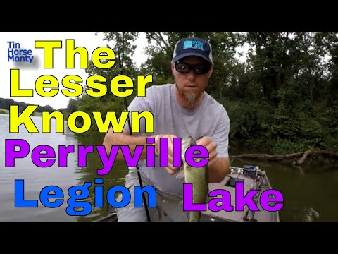 Fishing Perryville Legion Lake The Lesser Known