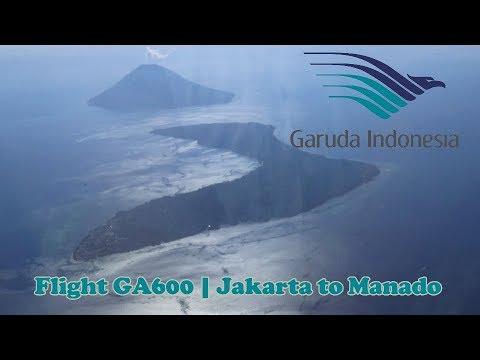 Garuda Indonesia : Flight GA600 | Jakarta to Manado