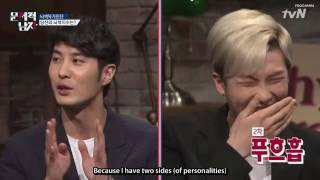 [Eng Sub] Problematic Men Ep 2 - Rap Mon Laughing at (with?) Kim Jisuk