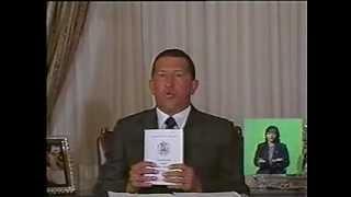 LEGADO DEL CMDTE. Chávez el día de Aprobación Constitución del 15-DIC-1999