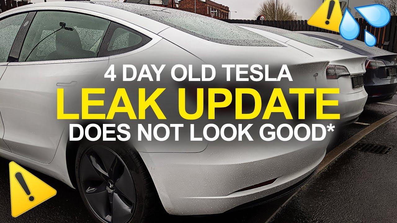 BRAND NEW Model 3 Leak *UPDATE* BAD News! Refund ? TESLA ...