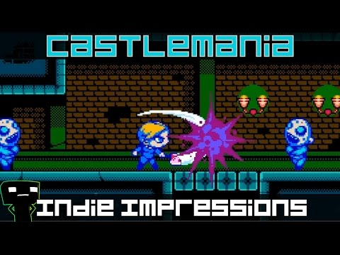 Castlemania Games Welcome To The Castle >> Indie Impressions Castlemania Youtube