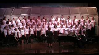TJHS 8th Grade Girls Choir - A Zing A Za