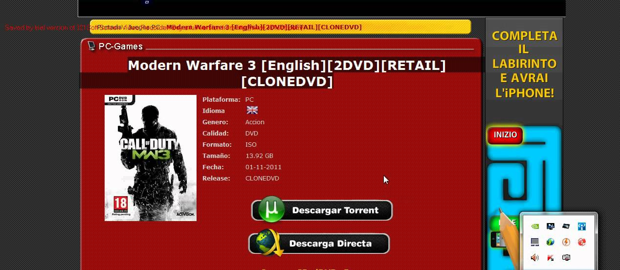 mw3 ps3 torrent