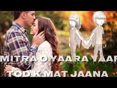 O Mitra O Yaara Yaari Todke Mat Jana ( O Ghar Aaja Pardesi)  Gadar New WhatsaApp Status Video