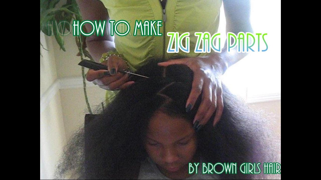 How To Make Zig Zag Parts Youtube