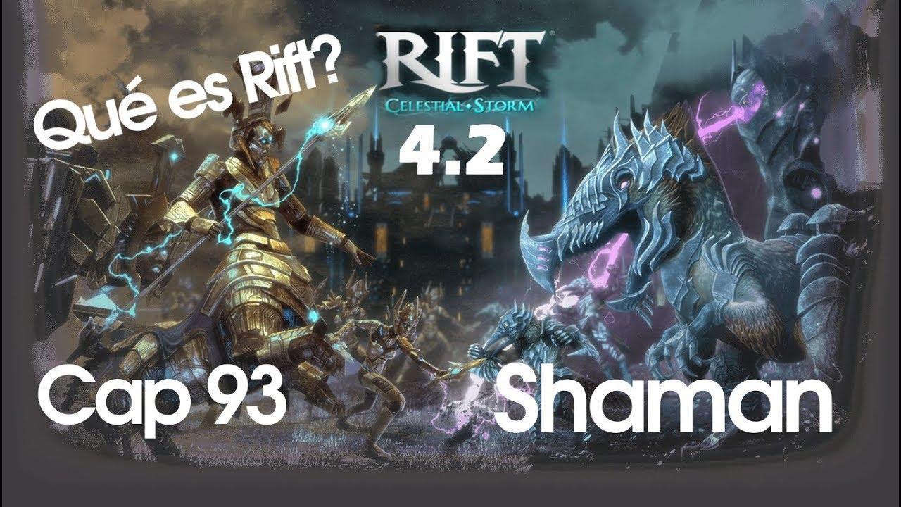 rift 4.2 en español - cap. 93 - cleric: shaman - youtube