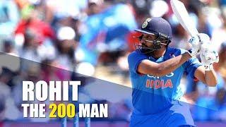 Rohit Sharma, The 200 Man
