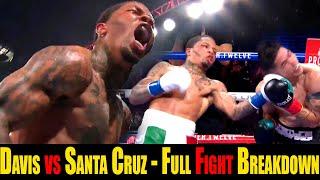 Anatomy of a Knockout - Gervonta Davis vs Leo Santa Cruz - Full Fight Breakdown