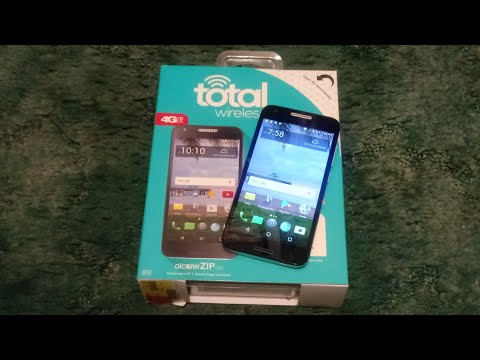Alcatel ZIP - Unboxing & First Look!