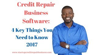 видео Credit Repair Business Software