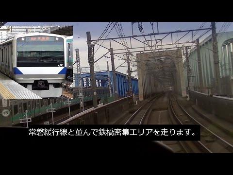 【Full HD】常磐線特別快速 前面展望 上野≫土浦 JR東日本E531系【cab view】