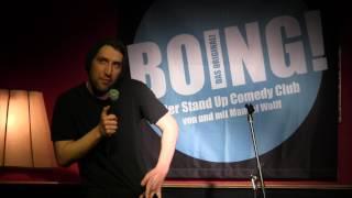 Juri von Stavenhagen im BOING Comedy Club: XXL Kondome
