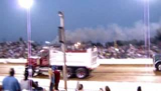 Dump Trucks Drag Racing & Pulling, The Buck 2009