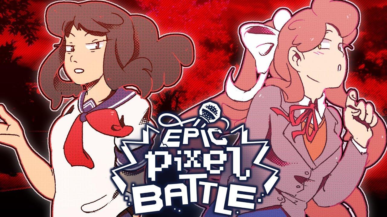 Yandere Chan Vs Monika Epic Pixel Battle Epb Season 3