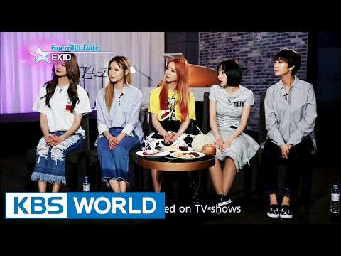 Guerrilla Date With EXID [Entertainment Weekly / 2016.06.12]