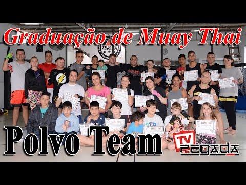 TV Pegada #0047 - Graduação de Muay Thai da Polvo Team