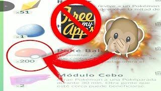 (PARCHEADO)POKEMON GO!!!! - POKEBOLAS INFINITAS (SIN APPS PARA CANJEAR CODIGOS)