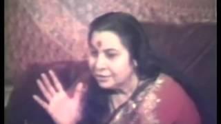 Navaratri 1st Day Vasanta Gudi Padwa (Shri Mataji Gauri Ganesha) Shalivahana New Year Australia 1981